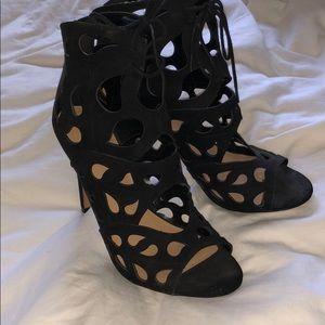 Aldo black high heels
